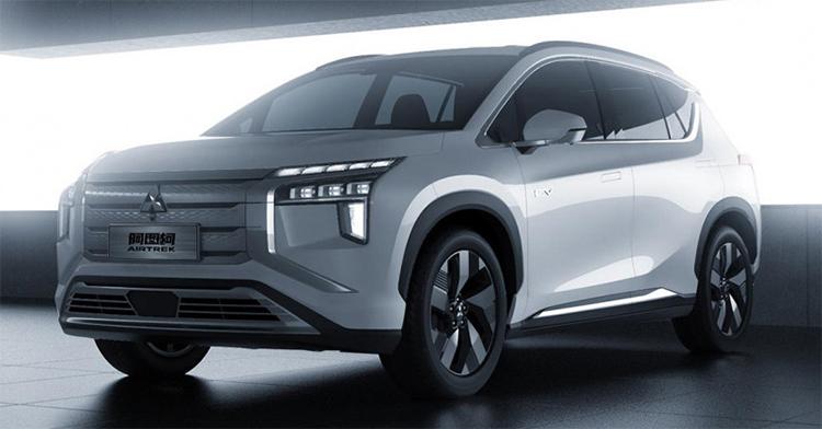 SUV điện Mitsubishi Airtrek 2022. Ảnh: Mitsubishi