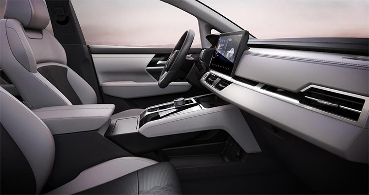Thiết kế nội thất của Airtrek 2022. Ảnh: Mitsubishi