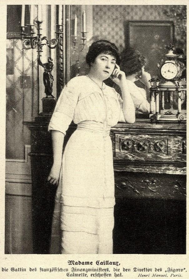 Bà Madame Caillaux.
