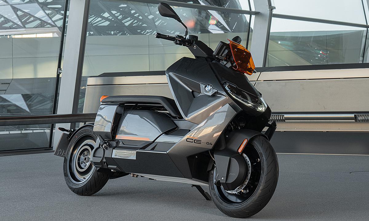 Thiết kế CE04 mới. Ảnh: BMW