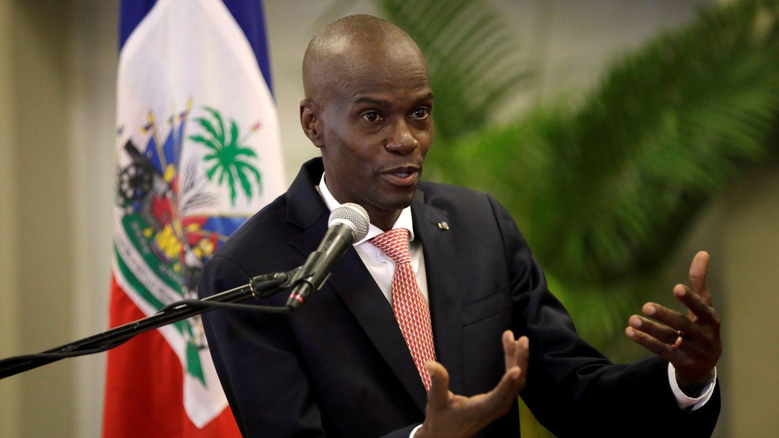 Tổng thống Haiti Jovenel Moise Port-au-Prince tháng 3/2020. Ảnh: Reuters.