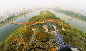 Thành phố 'bọt biển' ngăn ngập lụt ở Trung Quốc