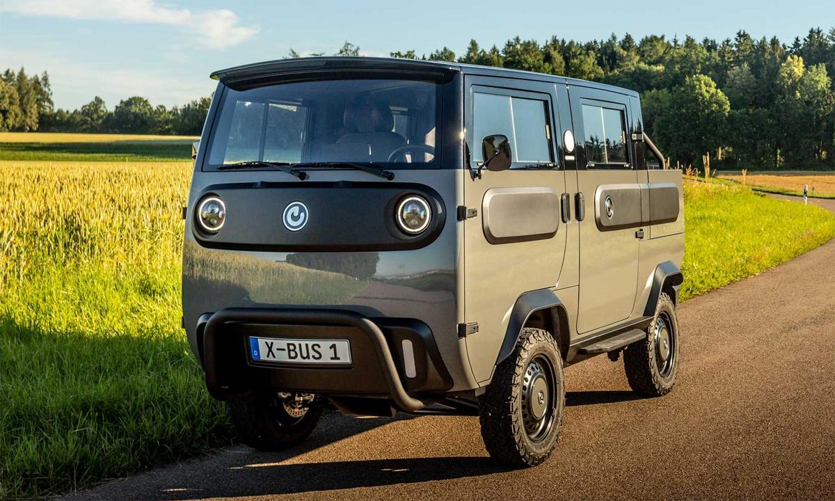 Xbus là kiểu xe tải mới đến từ Đức, dùng pin, có 9 phiên bản khác nhau. Ảnh: Electric Brands