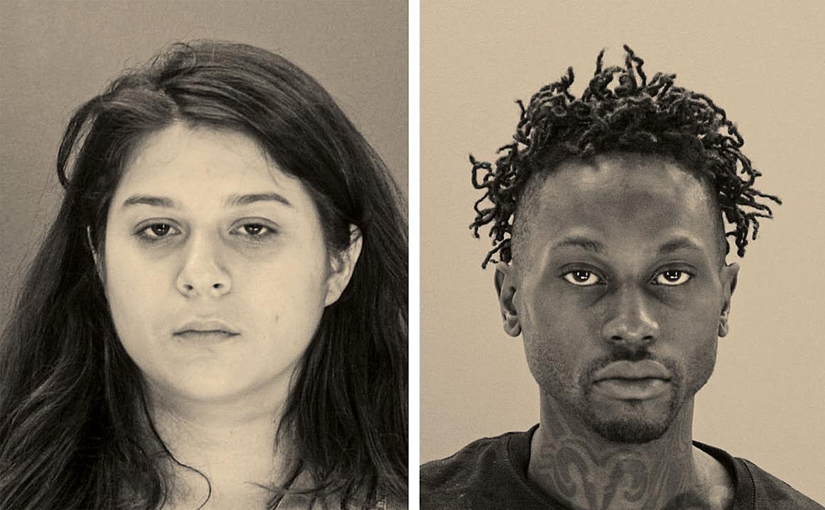Hai đồng phạm của Brenda trong vụ mưu sát, Crystal và Kristopher. Ảnh: Dallas County Jail/AP
