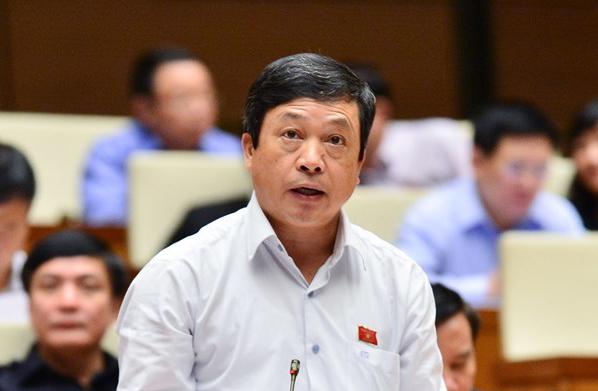 Thứ trưởng Bộ Văn hóa, Thể thao và Du lịch Đoàn Văn Việt. Ảnh: Trung tâm báo chí Quốc hội
