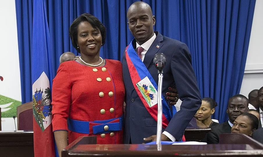 Đệ nhất phu nhân Martine Moise và Tổng thống Jovenel Moise tại Haiti năm 2017. Ảnh: Shutterstock.