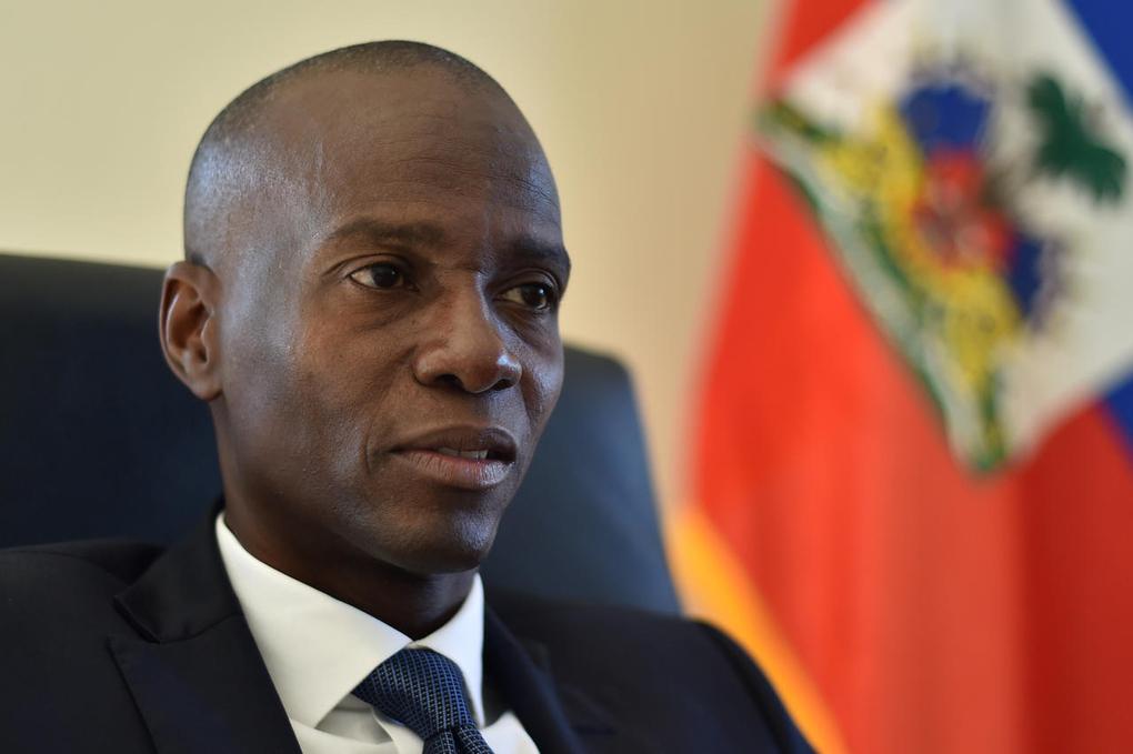 Jovenel Moise tại Haiti đầu năm 2017. Ảnh: AFP.
