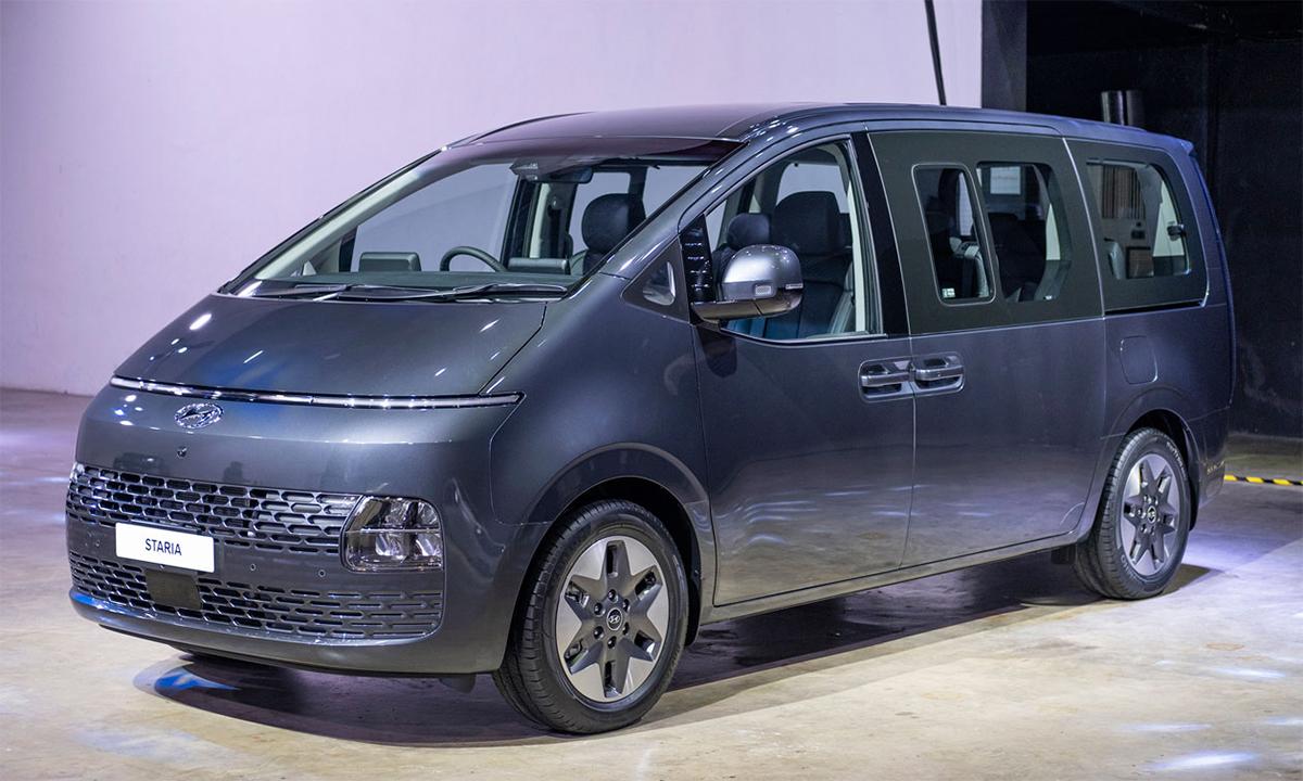 Mẫu MPV 11 chỗ Staria ra mắt tại Thái Lan. Ảnh: Hyundai