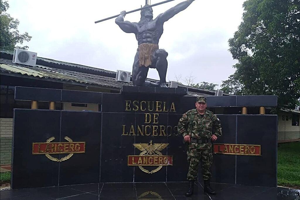 Cựu binh sĩ Colombia Duberney Capador, một trong những nghi phạm bị tiêu diệt sau vụ ám sát Tổng thống Haiti Jovenel Moise. Ảnh: Reuters.