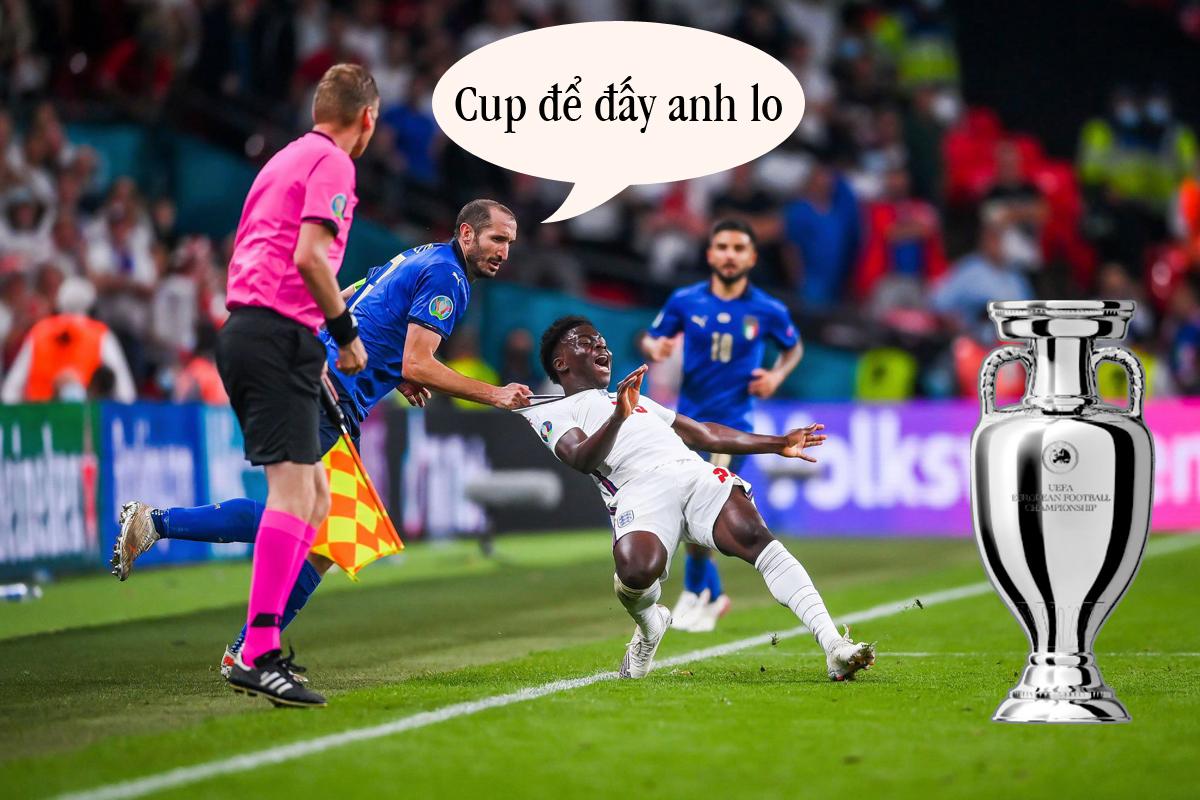 Vì các cầu thủ Ý cho thấy họ xứng đáng hơn.