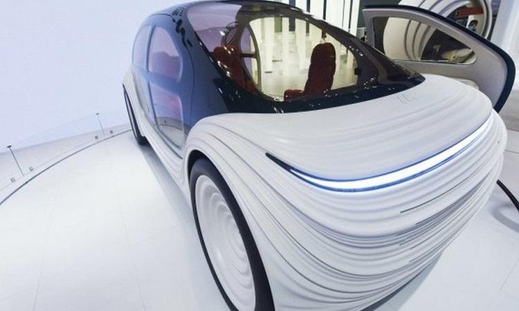 Mẫu xe điện của Thomas Heatherwick. Ảnh: BBC.