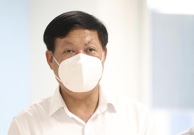 Thứ trưởng Y tế Đỗ Xuân Tuyên. Ảnh: Ngọc Thành