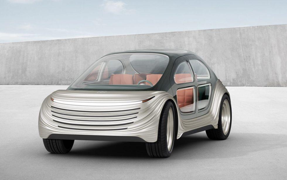 Mẫu xe mô phỏng của Heatherwick Studio.