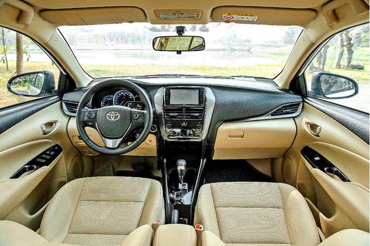 Nội thất Toyota Vios.
