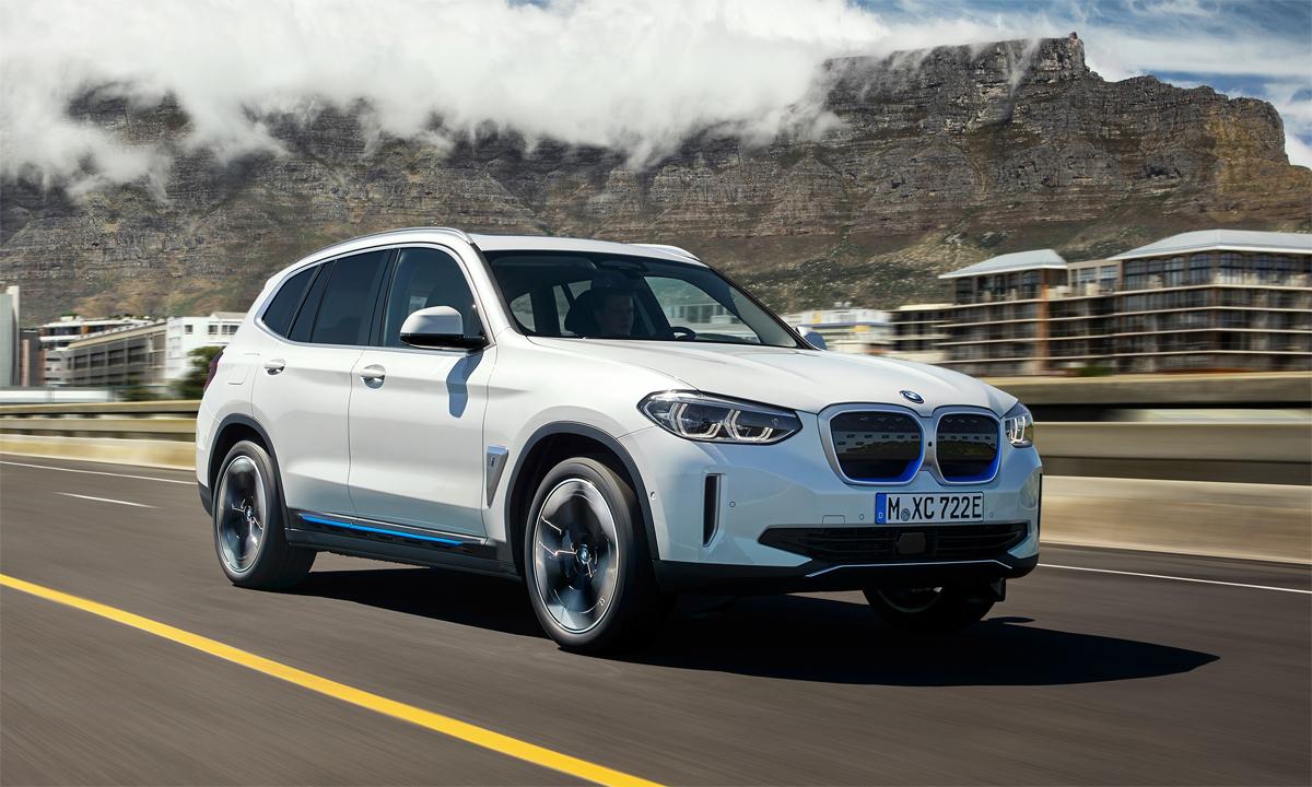 iX3 - xe sang thuần điện tại Đức. Ảnh: BMW