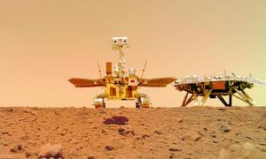 Robot Trung Quốc đi hơn 410 m trên sao Hỏa