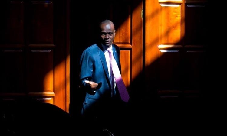Tổng thống Haiti Jovenel Moise. Ảnh: AP.