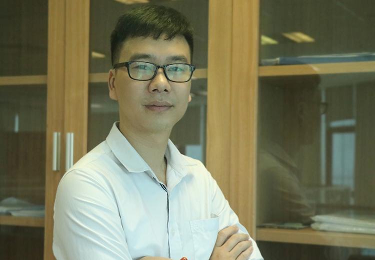 TS Minh là nhà khoa học trẻ Việt Nam đầu tiên nhận giải thưởng nghiên cứu của Tổ chức Khí tượng Thế Giới WMO. Ảnh: NX.