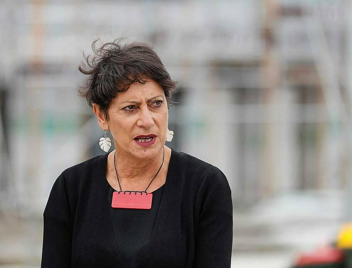 Bộ trưởng Công an New Zealand, bà Poto Williams. Ảnh: NZherald