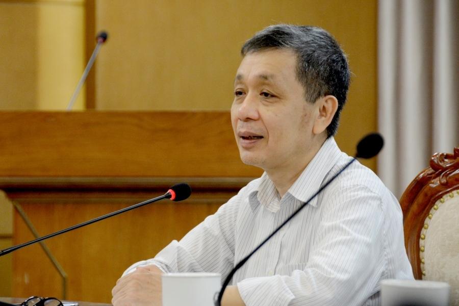 TS Lê Đông Phương, Giám đốc Trung tâm nghiên cứu Giáo dục đại học,Viện Khoa học Giáo dục Việt Nam. Ảnh: T.H