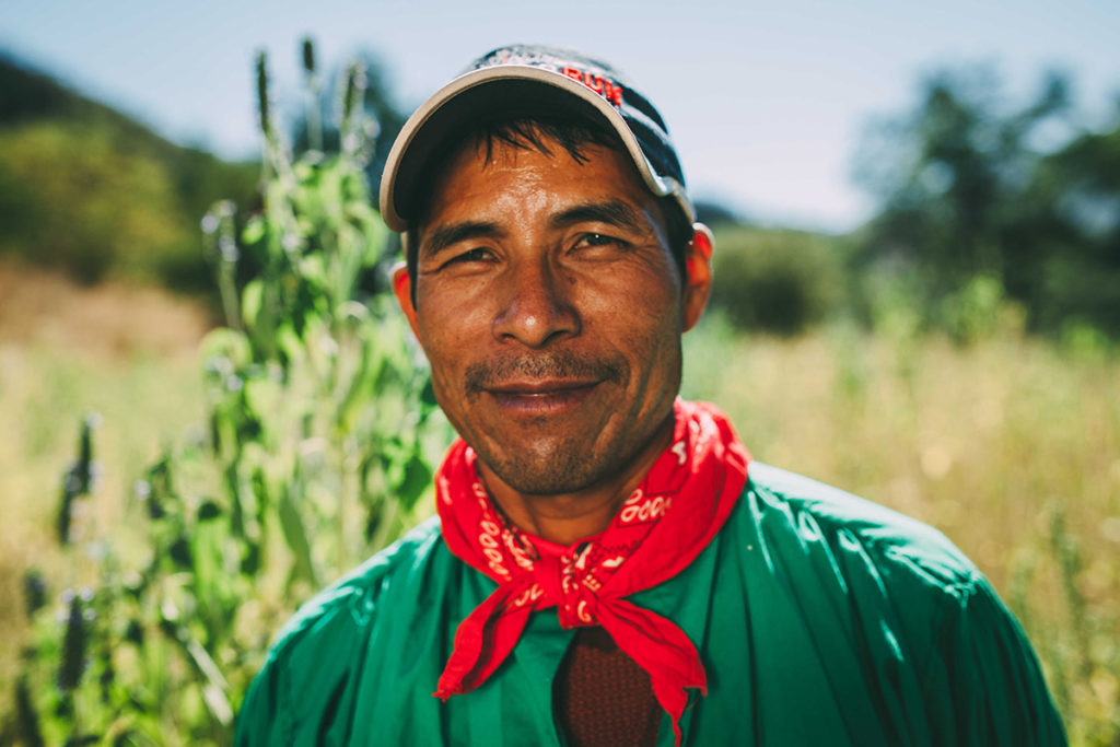 Silvino Quimare, cư dân bộ tộc Tarahumara. Ảnh: Texas Monthly