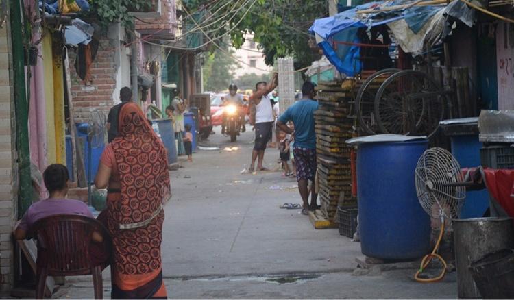 Một khu ổ chuột của Ấn Độ. Ảnh: SCMP.