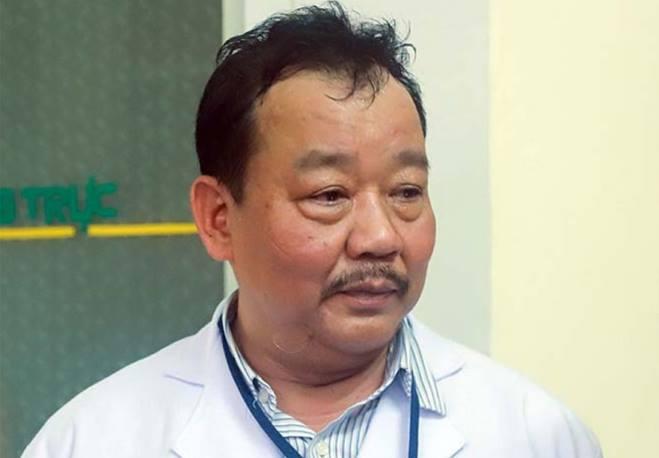 Bác sĩ Lê Thành Phúc, Giám đốc Bệnh viện Phổi Đà Nẵng. Ảnh: Nguyễn Đông