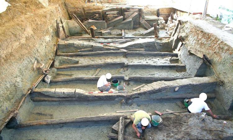 Bể nước Noceto Vasca Votiva tồn tại từ cách đây khoảng 3.400 năm. Ảnh: Bộ Văn hóa Italy.