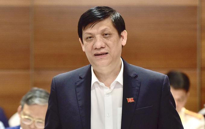 Bộ trưởng Y tế Nguyễn Thanh Long. Ảnh: Hoàng Thùy