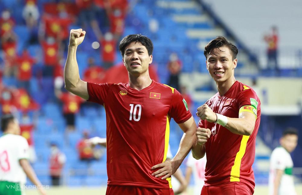 Tim Vietnam akan berkumpul pada pertengahan Agustus untuk mempersiapkan babak kualifikasi ketiga Piala Dunia 2022 - wilayah Asia.  Foto: Lam Thoa
