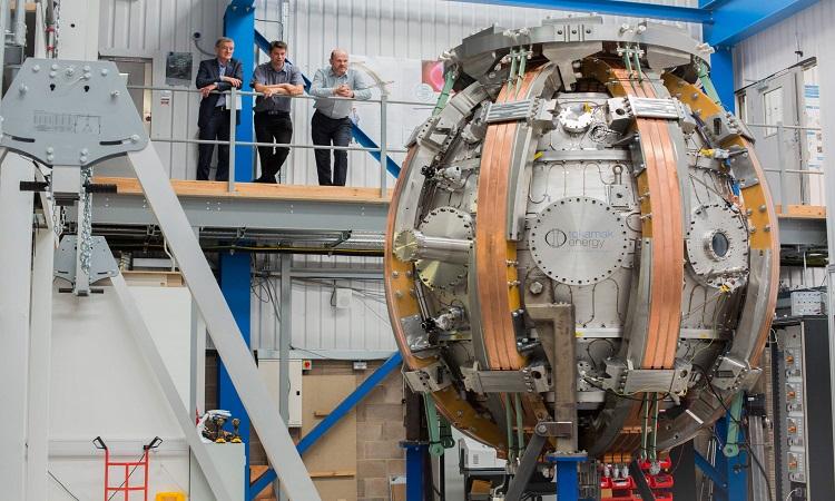 Lò phản ứng ST 40 của Tokamak Energy. Ảnh: Power Technology.