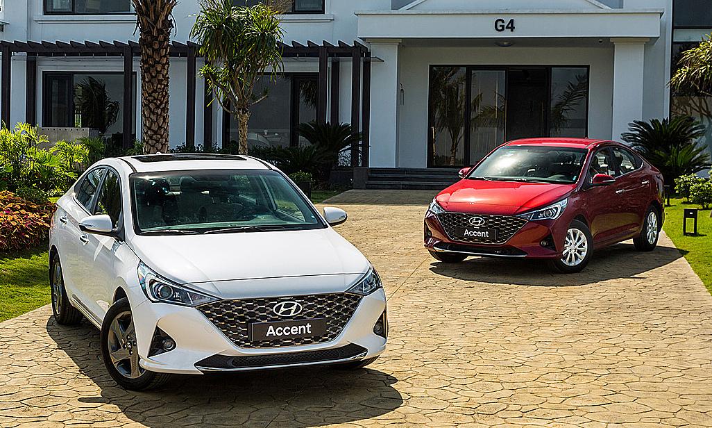 Sản phẩm chủ lực của Hyundai, mẫu Accent. Ảnh: TC Motor