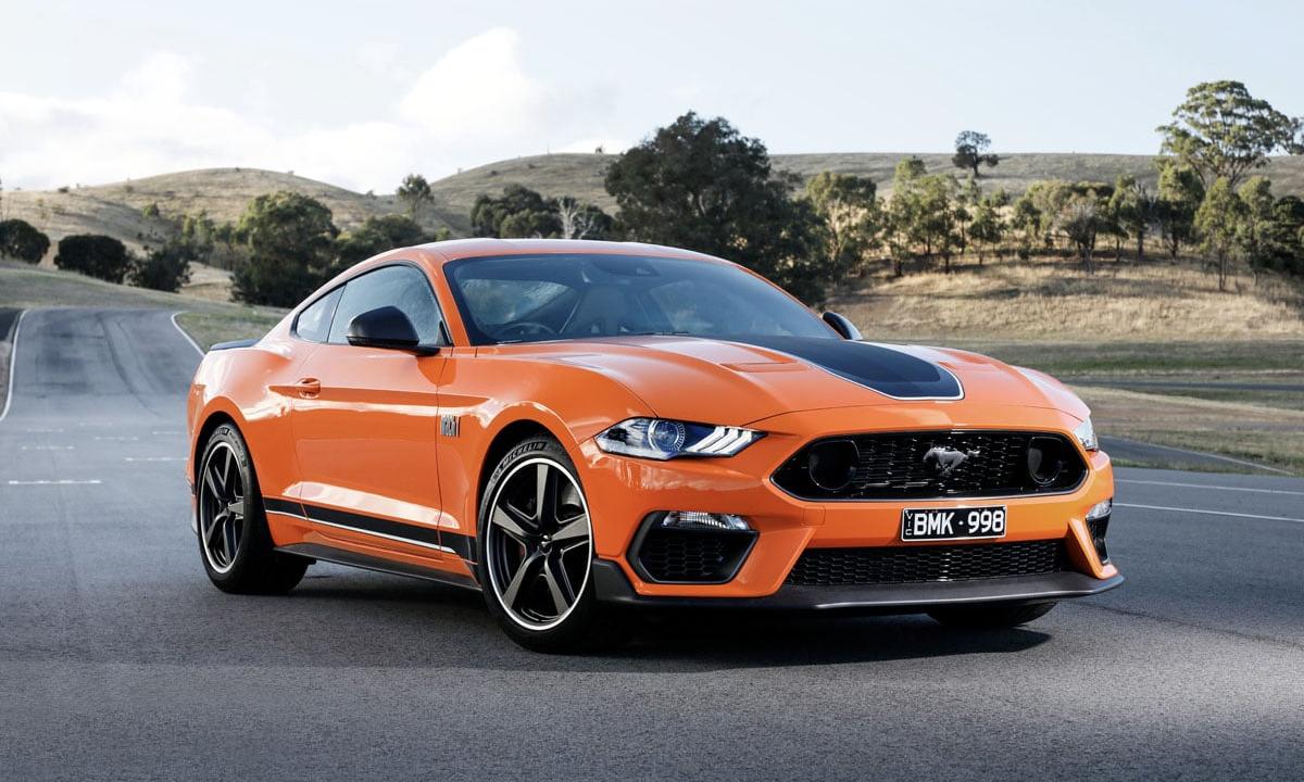 Mustang Mach 1 tại Australia. Ảnh: Ford
