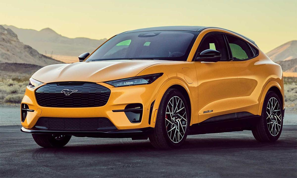 Mach-E GT - xe điện hiệu suất cao với công suất 480 mã lực. Ảnh: Ford