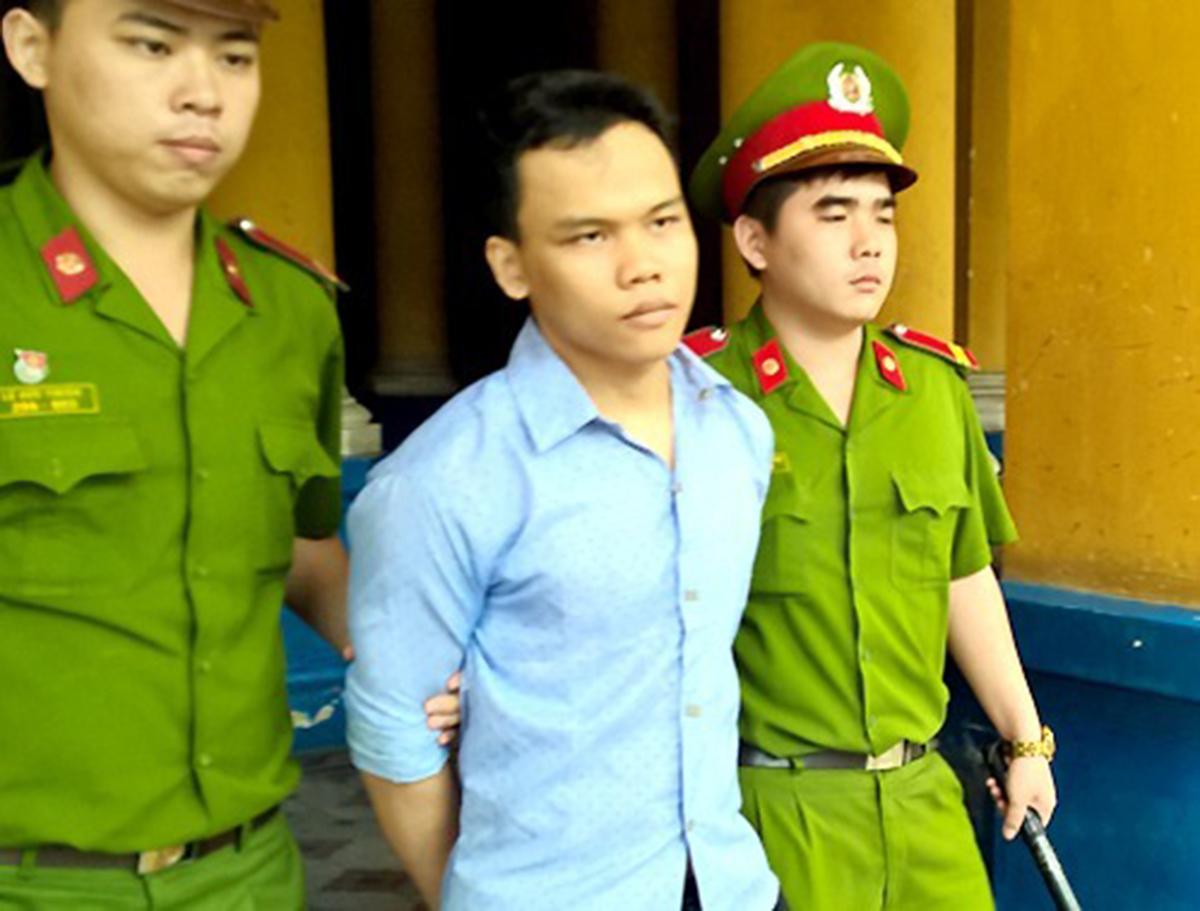 Nguyễn Kim An sau khi bị tuyên án tử hình, tháng 6/2015. Ảnh:Bình Nguyên.