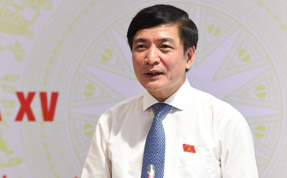 Chủ nhiệm Văn phòng Quốc hội Bùi Văn Cường. Ảnh: Hoàng Phong