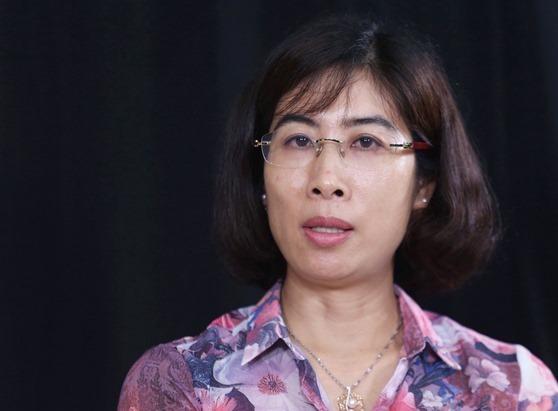 Bà Phan Thị Thu Hiền, Phó tổng cục trưởng Tổng cục Đường bộ. Ảnh: Gia Chính.