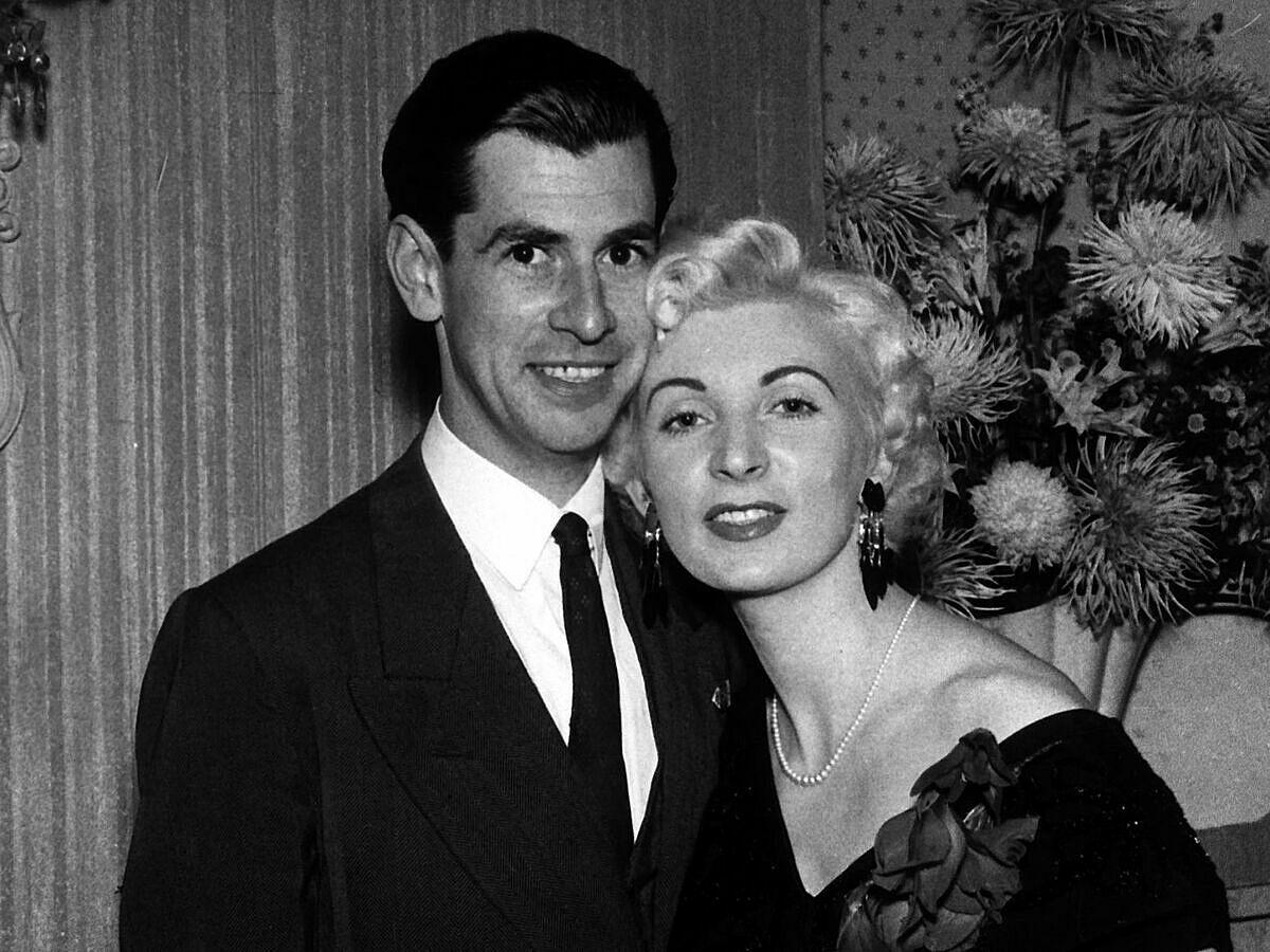 Ruth Ellis và bạn trai David Blakely năm 1955. Ảnh: Mirrorpix