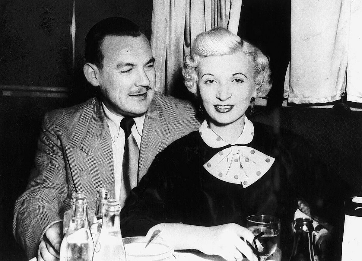 Ruth Ellis và Desmond Cussen. Ảnh: Mirrorpix