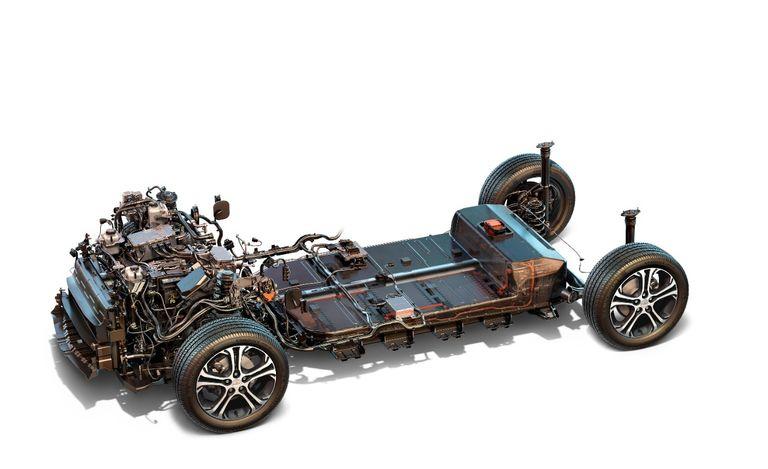 Cấu tạo pin bên trong của chiếc Bolt EV.