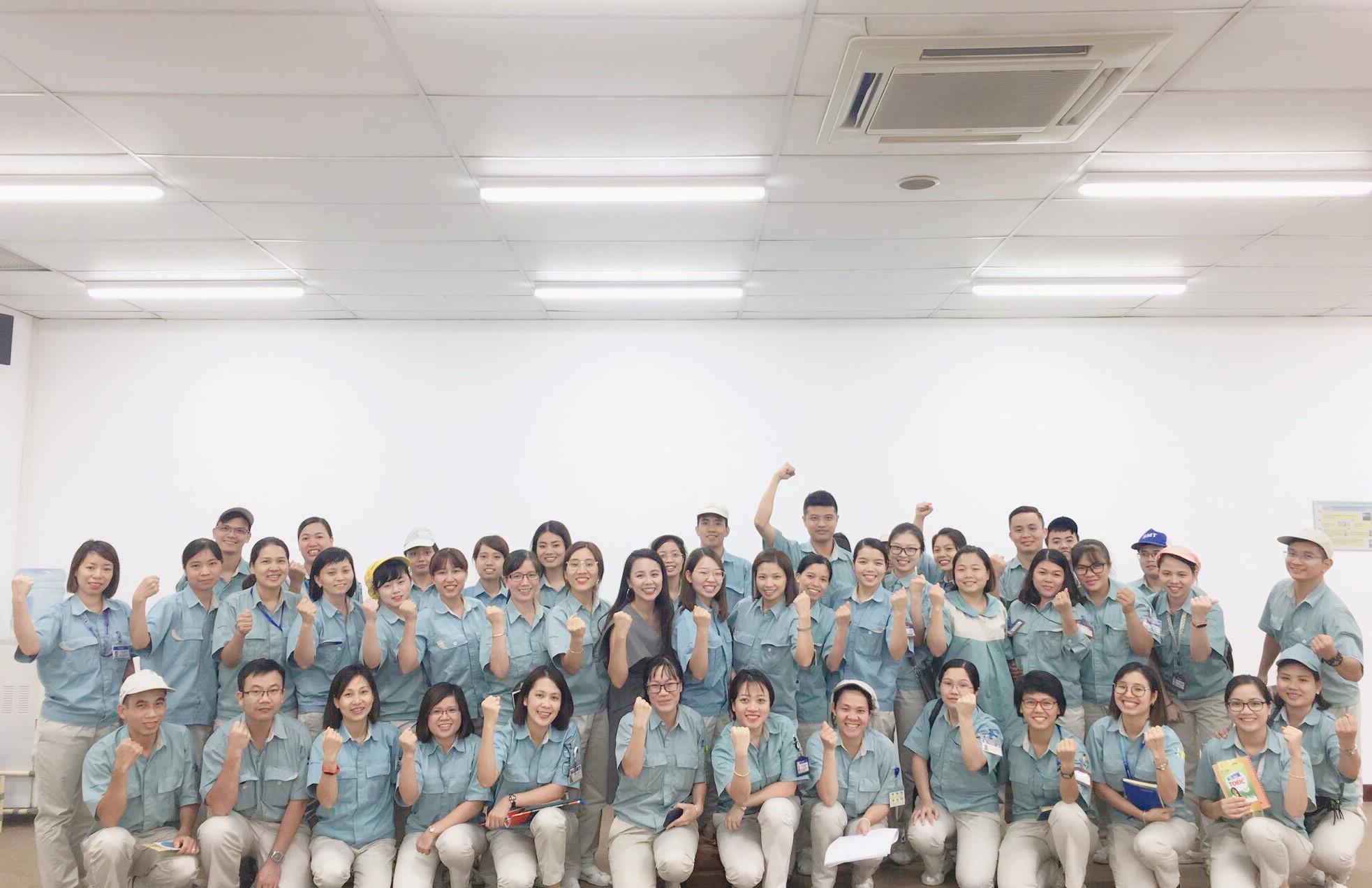 Công ty TNHH Panasonic Việt Nam hợp tác với trung tâm Anh ngữ Ms Hoa đào tạo TOEIC cho nhân viên.