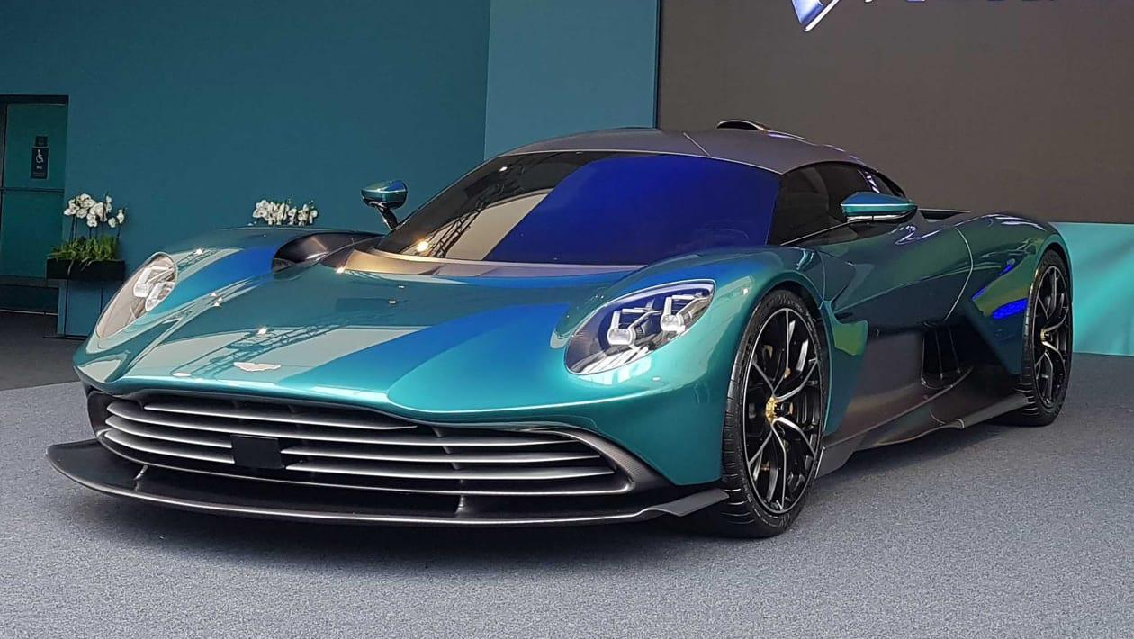 Siêu xe hybrid Valhalla của Aston Martin.