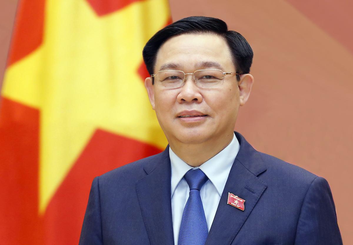 Chủ tịch Quốc hội khóa XIV Vương Đình Huệ. Ảnh: Hoàng Phong