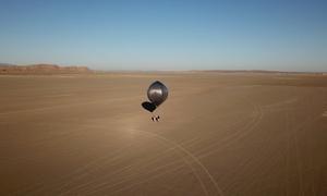 Khí cầu bay cao 24 km giúp phát hiện động đất