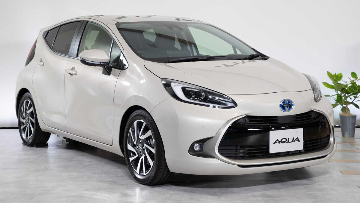 Toyota Aqua 2021 (hay Prius C) ra mắt tại Nhật Bản. Ảnh: Toyota