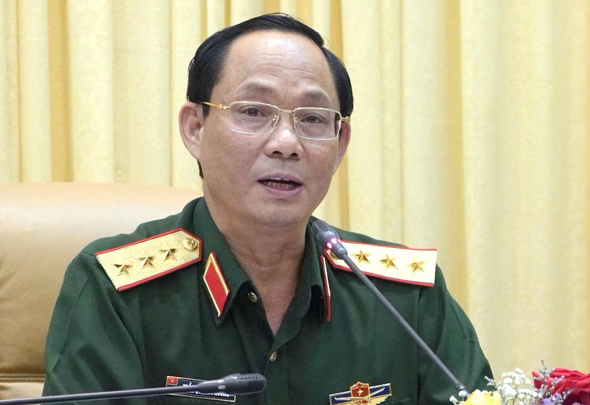 Thượng tướng Trần Quang Phương, Phó chủ nhiệm Tổng cục Chính trị. Ảnh: PV
