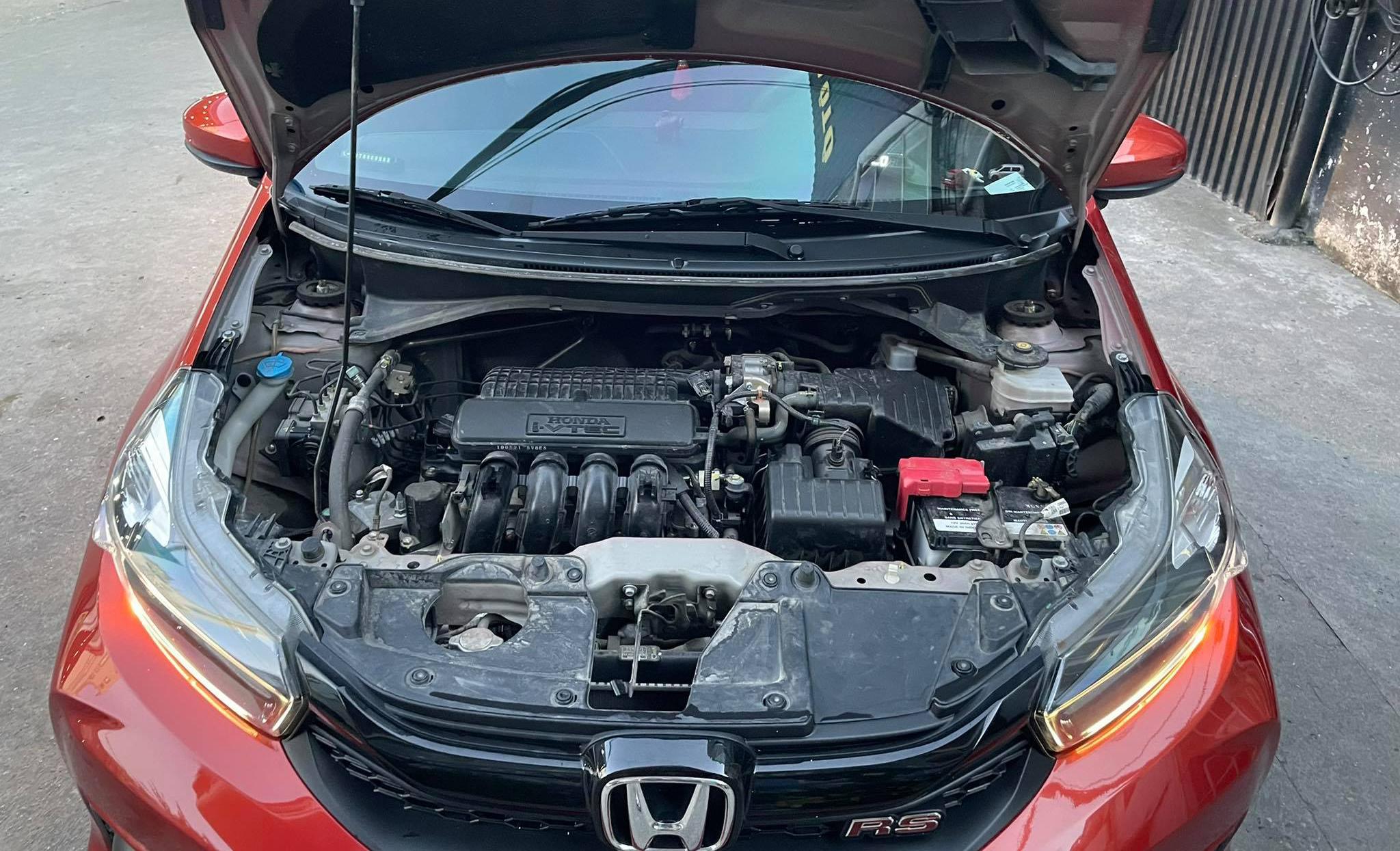 Khoang động cơ trên một mẫu ôtô của Honda. Ảnh: Đoàn Dũng