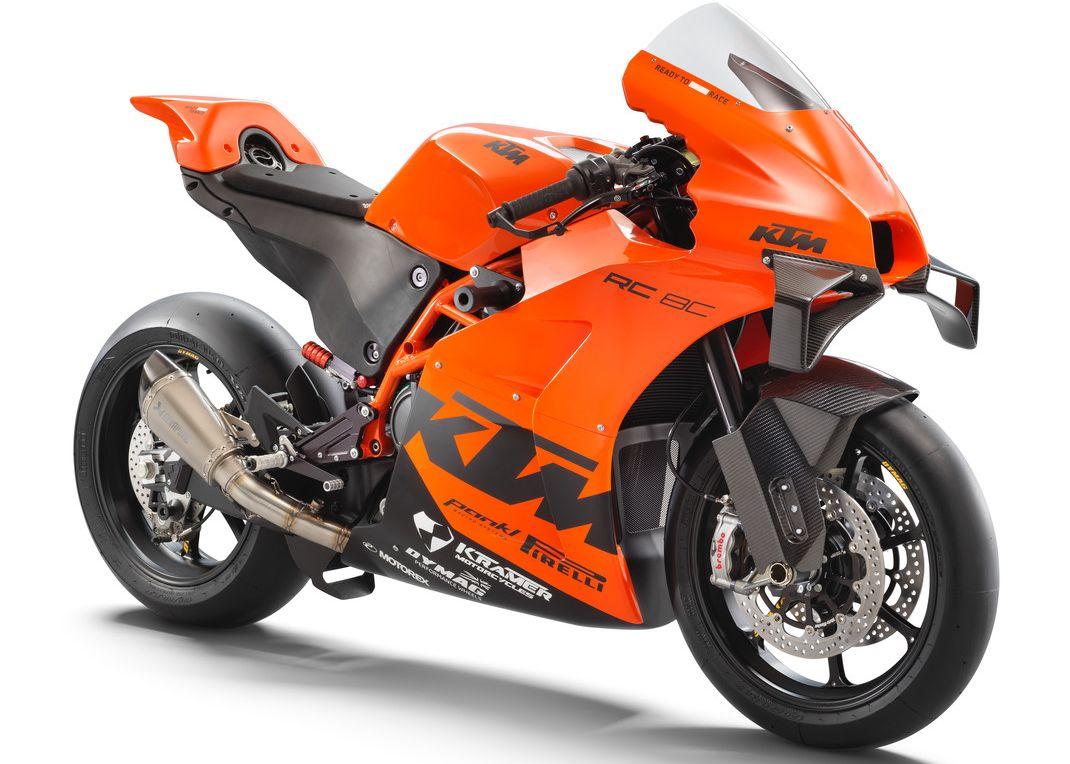 Phiên bản giới hạn 100 chiếc KTM RC 8C 2021. Ảnh: KTM