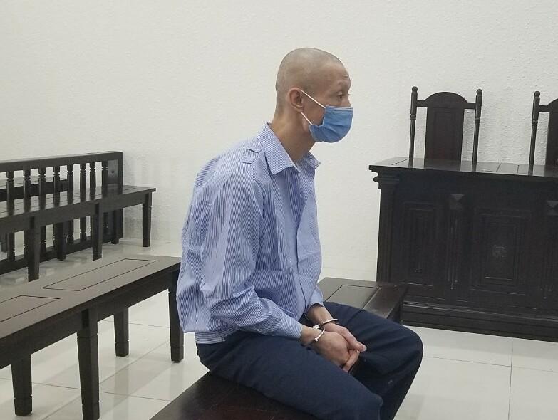 Bị cáo Dương Văn Bình tại phiên toà chiều 21/7. Ảnh: Hải Thư