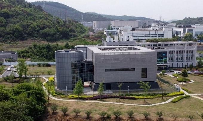 Phòng thí nghiệm P4 ở Viện Virus học Vũ Hán. Ảnh: SCMP.